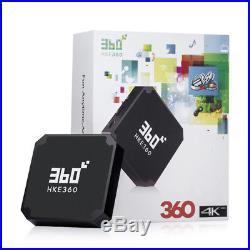 4K TV Box HKE360 2019Unblock Chinese HK/China/Sport Channel IPTV