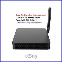 4k International TV Box Free For Life USA/Canada/UK/Latin America/Asia/India