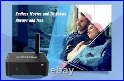 4k Unlimited Tv Streaming Device Android Media Box Octastream Q1 Unlimited Tv