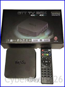 (5)MXQ Amlogic S805 Android 4.4 Quad Core 8 GB XBMC Kodi 1080P Smart TV Box WIFI