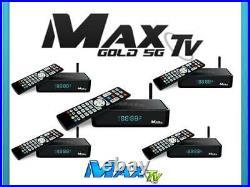 5 Pack Of Max Tv Gold 5g 4k Quad-core 64 Bit