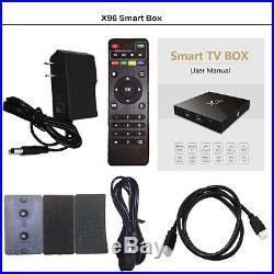 5 x Amlogic S905X X96 2GB 16GB Android 6.0 Quad Core TV BOX 4K US