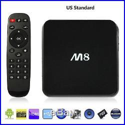 5 x New Smart TV Box Sets M8 Quad Core Android 4.4 WIFI Fully Loaded Kodi XBMC