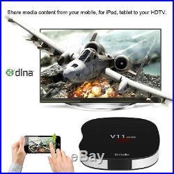 50x Docooler V11mini Smart Quad Core Android 5.1 TV Box WiFi H. 265 4K Media 8GB