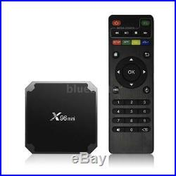 5PC X96 Mini 8G S905W Quad Core WIFI Smart TV Box Android7.1 Mini PC Media S5N1