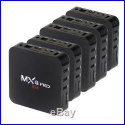 5PCS MXQ Pro TV Box S905 Android 5.1 Quad Core 1G/8G H. 265 WIFI 4K 1080P KOD