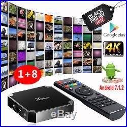 5pcs Quad-core TV Box X96 mini Media Player Amlogic S905W 4K 1G 8G Smart D4H5D
