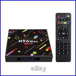 5X H96 Max-H2 Smart TV Box Android 7.1 Quad-Core 4K 4G 64GB WiFi HD RK3328 Media