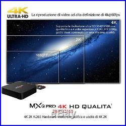 5X MXQ PRO Android7.1 S905W QuadCore 2+16G Smart TV Box 4Kx2K WIFI Media Player
