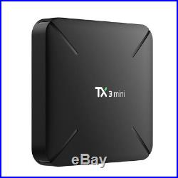5X TX3 mini UHD 4K S905W Quad Core Android 7.1 Smart TV BOX WiFi 16GB Media B6D5