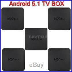 5pcs MXQ S905 Full Loaded Quad Core Android 5.1 4K 3D Smart Set TV BOX XBMC KODI