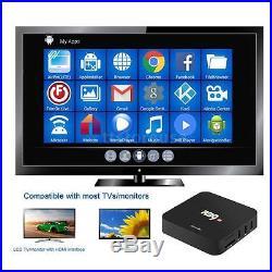 5pcs R39 Android 6.0 Smart TV Box Quad Core DLNA 4K WiFi H. 265 HD Media Player