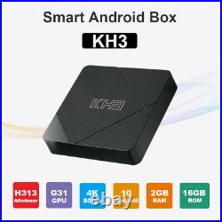 5pcs/lot dhl free KH3 Tv Box Android 10 2GB 16GB Quad-core ARM Cortex-A53