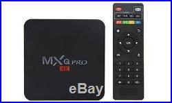 5pcs/lot dhl free MXQ Pro RK3229 1GB/8GB 4K Quad Core Android 7.1 TV Box