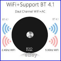 5pcs/lot dhl free R-TV R10 Android 7.1 2G/ 16G TV Box RK3328 Quad Core 2.4G&5G