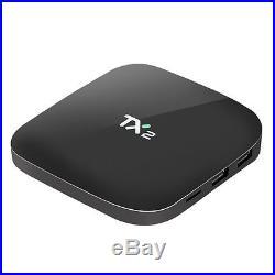 5pcs/lot dhl free TX2 2G/16G Android 6.0 TV Box WiFi Bluetooth Quad Core