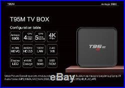 5pcs/lot dhl free new arrive T95M 1G/8G s905x Android 7.1 quad-core tv box