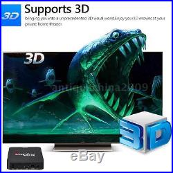 5x 8G Quad Core Android 6.0 TV Box WiFi H. 265 3D Movie Game Player 4K Media