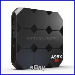 5x A95X R2 4K Android 7.1 Smart TV BOX 2GB 16GB Quad Core WiFi H. 265 Media H7S1