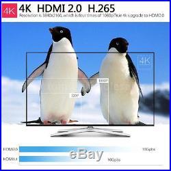 5x MX4 Android 6.0 RK3229 Quad Core WiFi 1080P UHD 4K Smart TV Box 1G+8G