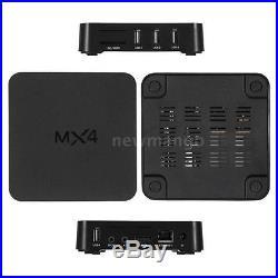 5x MX4 TV Box RK3229 Android 6.0 Quad core WiFi Display 4K HD Smart Media Player