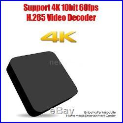 5x New Smart TV Box RK3229 Android 6.0 Quad Core Full 4K WIFI Media Player
