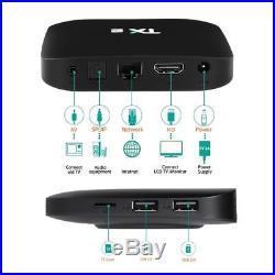 5x TX2 Android 6.0 RK3229 Quad Core UHD TV BOX 2+16G DLNA 2.4G WiFi LAN 4K Media