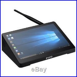 8.9Inch Dual Boot Mini PC TV Box Tablet Intel Quad Core Z8350 PIPO X9s BT Cherry