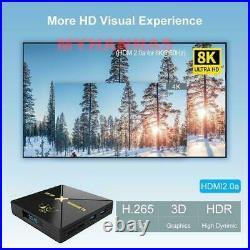 8K Arabic English Turkish Africa WI-FI Android 10 Sports TV BOX HD Moive 4/64GB
