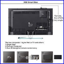 9pcs andriod tv box X96 1G 8G KO+DI Amlogic S905X Quad Core Android 6.0 TV Box