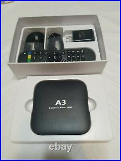 A3 Better TV Better Life 4K Ultra HD, Quad Core 2GB DDR #M3