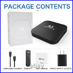 A3 TV BOX Smart Brazil S905X Android 7.1.2 Streamer