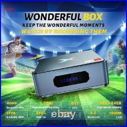 A95X MAX II 8K TV Box 4GB/64GB 2.5 HDD Video Recording 5G WIFI 4K Media Player