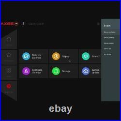 AX95 DB 8K TV BOX Android 9 S905X3-B 4GB/64GB HDR 10+ YouTube 4K DOLBY Streamer