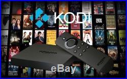 Amazon Fire TV Box Alexa Voice Remote 2nd Gen Quad Core 4K Kodi 17.4