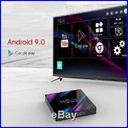 Android TV Box 4GB RAM 64GB ROM TV BOX 4K HD Netflix Youtube