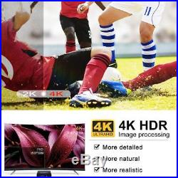 Android TV Box 8.1, 4GB RAM+64GB ROM Leelbox Q4 MAX Quad-Core 2.4GHz Support