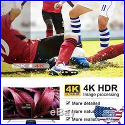 Android TV Box 8.1, 4GB RAM+64GB ROM Leelbox Q4 MAX Quad-Core 2.4GHz Support BT