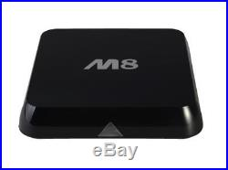 Android smart tv box KitKat XBMC 3D 4K PC Google Oct Core GPU Quad Core CPU M8
