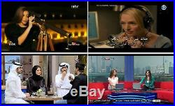 Arabic Channels Sports English Turkish French Receiver WI-FI Android TV Full HD