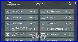Arabic, Usa, India, Iran, Latin, Asia, Adult+18, worldwide Iptv Android TV box