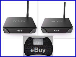 Authorized Seller G10SX Android Future TV Quad Core 2 Smart Boxes & H9 Keyboard