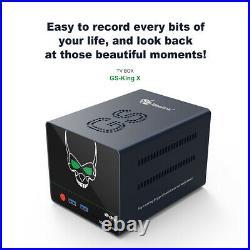 Beelink GS-King X TV Box Amlogic S922X-H DDR4 64GB Dolby DTS 5G Wifi 1000M HDD