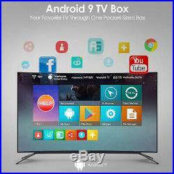 Beelink GT-King TV Box Android 9.0 4+64GB Voice Remote Control 2.4G+5.8G WiFi US