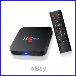 Bqeel M9C Pro Android TV Box 6.0 4K Amlogic S905X Chipset-Quad Core 1G/8GSu
