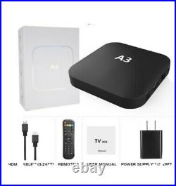 Brazilian Cable TV/movies, A3 Android TV BOX