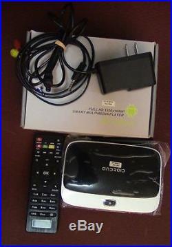 CS918T 1080P Smart Android4.4 Quad Core TV Box 2G/16G H. 265 WiFi XBMC KODI Media