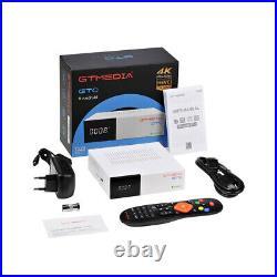 Decoder Satellitare Terrestre Ricevitore TV Sat DVB-S2/T2+ 4K Android Box, HEVC
