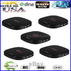 Docooler V11 mini Smart Android 5.1 TV Box QuadCore 1G/8G HD Media Player P8P8