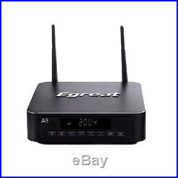 Egreat A9 Smart TV Box Quad Core 2.4G/5GHZ WiFi 2GB/16GB Android Media Player